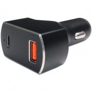 USB Autoadapter 12V/24V