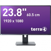 "23.8"" Terra LED 2456W PV schwarz GREENLINE PLUS"