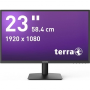 "23"" TERRA LED 2311W schwarz HDMI GREENLINE PLUS"
