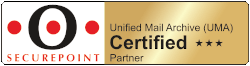 Securepoint Unified Mail Archive UMA Certified Partner