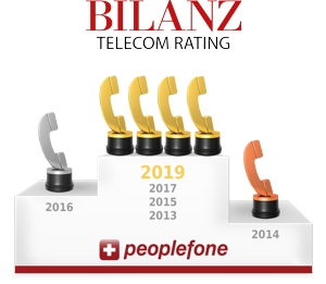 Bilanz Telecom Rating Peoplefone 2019